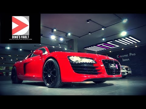 Audi R8 Supercharged Walkaround Review, Exhaust Note #Cars@Dinos