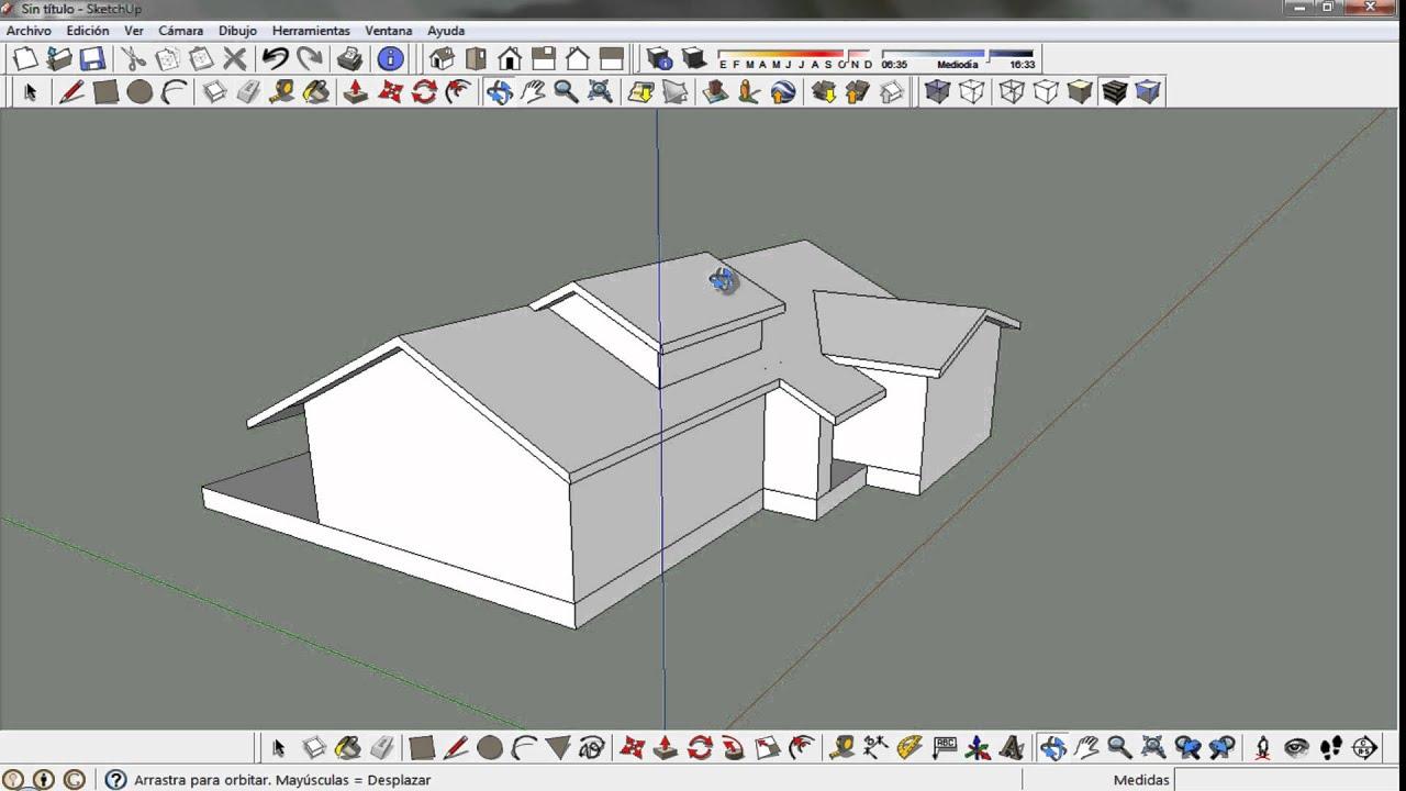 3dfacilito 03 construir una casa parte 1 youtube for Como se construye una casa