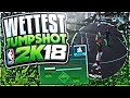 THIS JUMPSHOT WILL TURN YOU INTO A PURE SHARP!! GREEN RELEASE 2K18 MYPARK!!