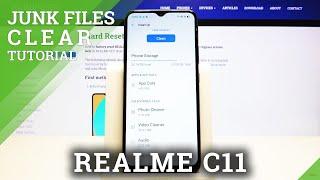 Come pulire l'archiviazione in REALME C11 - Elimina i file spazzatura