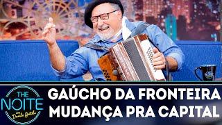 Gaúcho da Fronteira canta Mudança pra capital | The Noite (19/09/18)