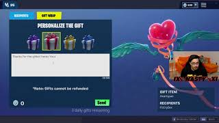 How to Gift the Free Heartspan Glider in Fortnite Battle Royale!