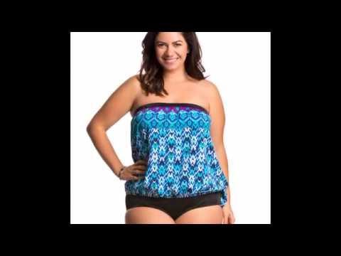 4b798c2dafd5a Plus Size Tankini swimwear Haul