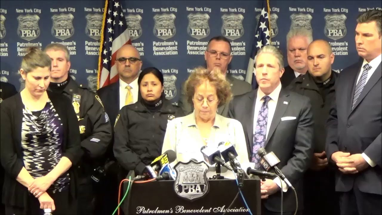 POLICE WIDOW AND PBA CALL FOR FIRING OF PAROLE BOARD MEMBERS WHO FREED  THREE-TIME COP KILLER