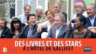 Des livres et des Stars à l'Hôtel de Gallifet