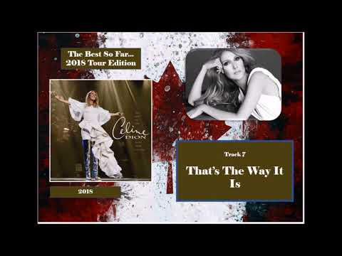 Album Preview - Celine Dion - The Best So Far... 2018 Tour Edition