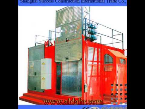 double cages construction lifter,telescopic lifters,elevation platforms for construction
