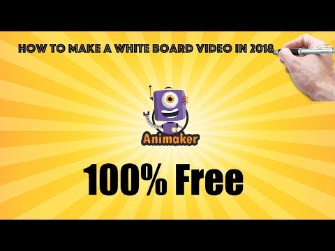 How To Make A Whiteboard Animation Free And Easy In 2020 (Animaker)