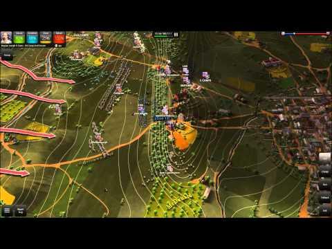Ep1 Ultimate General Gettysburg v.93 Confederate A.P. Hill 3rd Core A Tough Battle