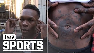 UFC's Israel Adesanya Explains Badass 'Naruto' and 'Avatar' Tats