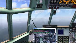 FSX - ORBX - KRDD to KTVL Highlights - C-130 Flight