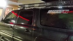 Large roof rack suburban