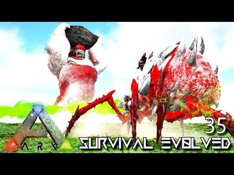 ARK: SURVIVAL EVOLVED - ALPHA BROODMOTHER & ALPHA MEGAPITHECUS E35 !!! ( PRIMAL FEAR PYRIA )