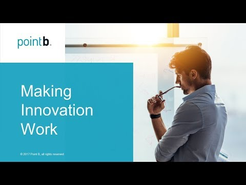 Making Innovation Work | webinar replay