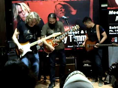 Jam Session Andy Timmons Choky Netral Arif Kerispa