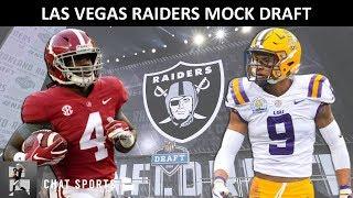 Raiders Mock Draft: Las Vegas Raiders Pick Jerry Jeudy & Grant Delpit In Latest 2020 NFL Mock Draft