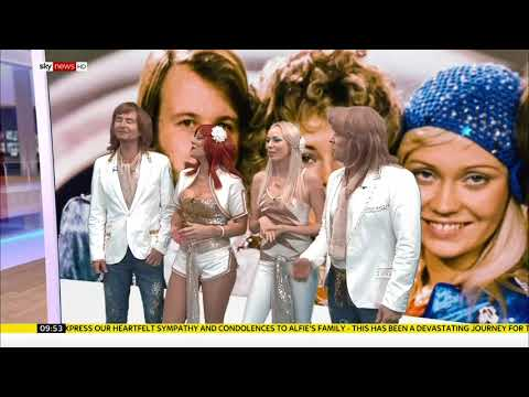 Abba Chique on Sky News Talking about the New Abba songs out in December