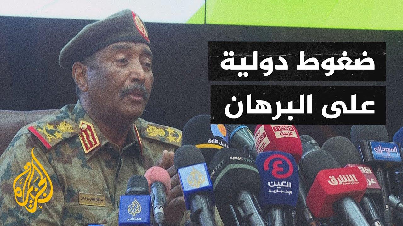 الاتحاد الإفريقي يعلق عضوية السودان ويحمل الجيش المسؤولية عن سلامة المعتقلين  - 18:55-2021 / 10 / 27