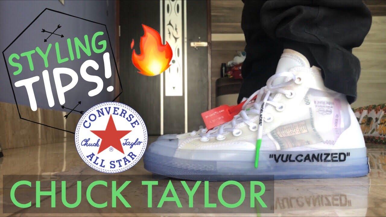Off-White Converse Chuck Taylor Style Tips - YouTube e094b75f4c979