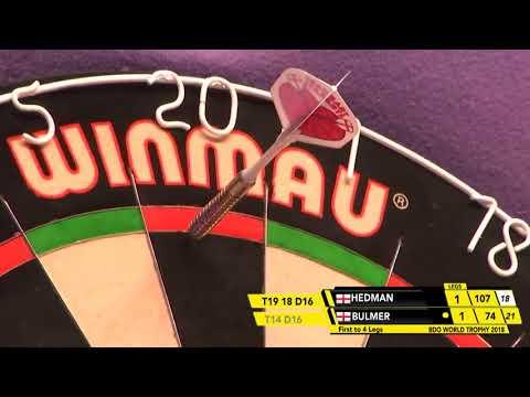 Hedman vs Bulmer Darts Ladies World Trophy 2018 Round 1