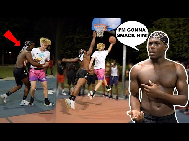 Biggest Trash Talker EVER Gets EXPOSED BAD! 1v1 Basketball In Arizona!