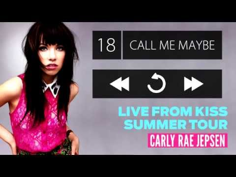 Carly Rae Jepsen - Live From Kiss Summer Tour (Audio)