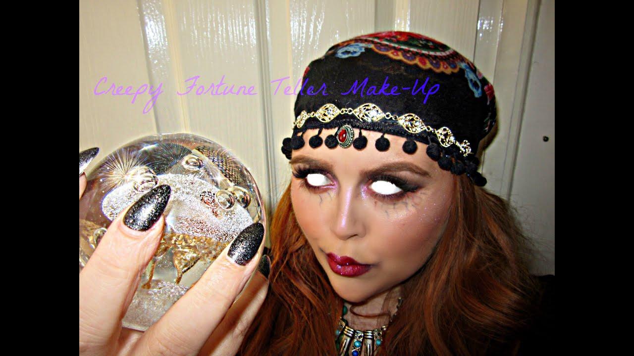 Creepy Fortune Teller/Gypsy Halloween Make-Up ...