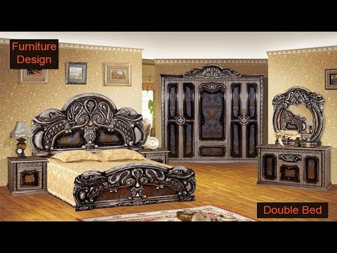 Wooden Double Bed Design For Home In India and Pakistan | Latest Double Bed design 2017/2018