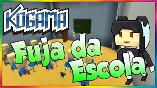 Kogama - Fuja da Escola. (Minigames)