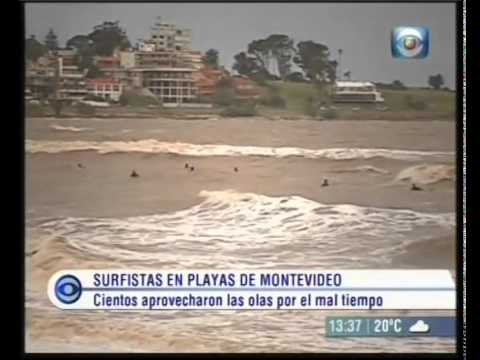 Surf en Montevideo