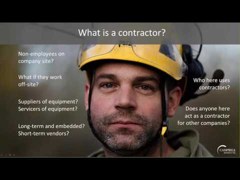 [Webinar] Contractor Management Strategies in a Complex World with The Campbell Institute