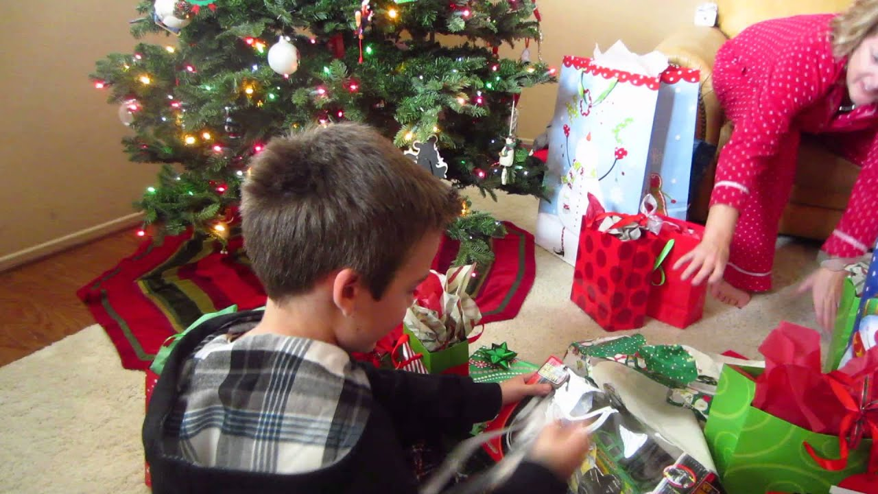 andrew gets a remote control car for christmas from grandma - Remote Control Christmas Tree