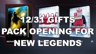 12/31 GIFTS + PACK OPENING FOR NEW LEGENDS | MUT 17
