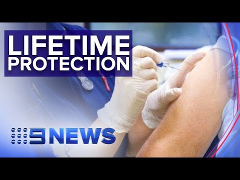New Flu vaccine could lead to life time protection | Nine News Australia