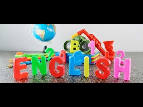 Развивающий мультфильм для Детей,учим английский язык,поём его