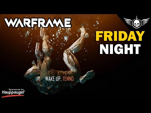 New WARFRAME | PURCHASE WITH COUPON | Friday Night LIVE