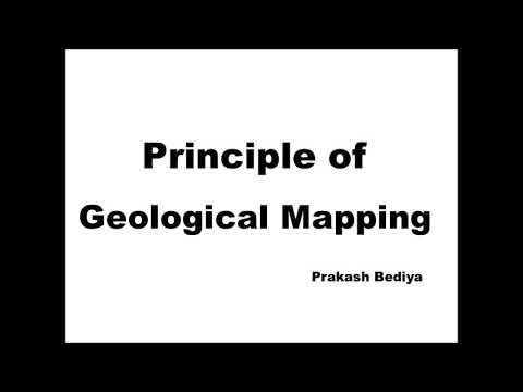 Geology Paper -1 Principle of geological Mapping