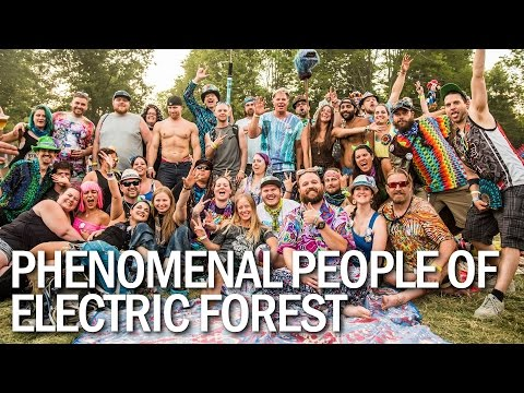 Phenomenal People of Electric Forest 2016