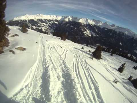 NY 20-13. Austria. Serfaus-Fiss-Ladis Ski Area