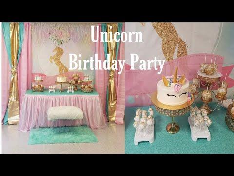 Unicorn Party Ideas/Fiesta de Unicornio