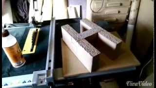 How To Make A Cardboard Foot Stool Diy