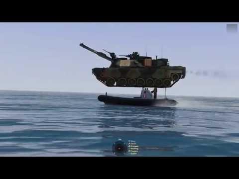 ArmA 3: Realistic Sea Transportation