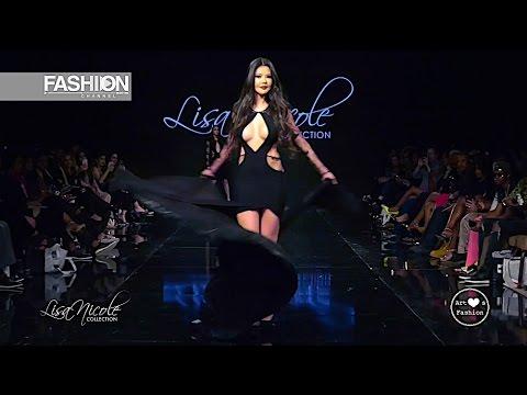 LISA NICOLE COLLECTION Los Angeles Fashion Week AHF FW 2017 2018 - Fashion Channel