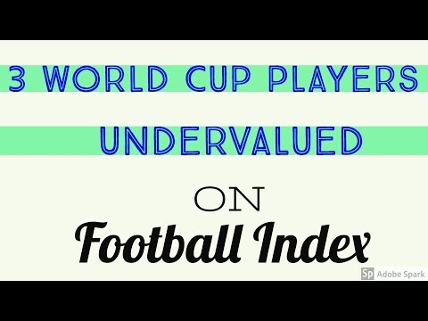 3 Undervalued Players for the World Cup on Football Index!