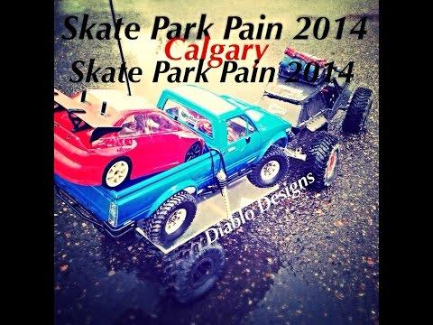 Skate Park Pain - 2014 Calgary Speedy truck break
