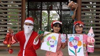 Trò Chơi Ông Già Noel Đi Tặng Quà Giáng Sinh ❤ BIBI TV ❤