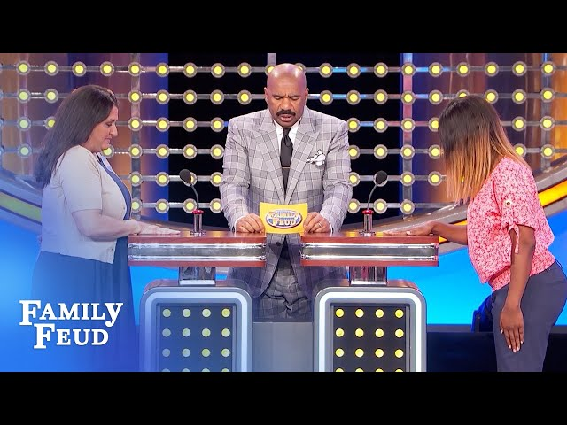 An Elvis impersonator better have this! | Family Feud
