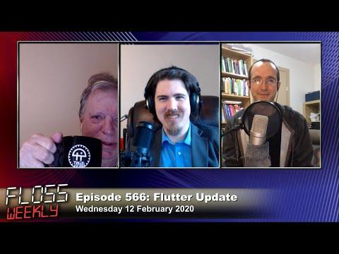 Flutter Update - FLOSS Weekly 566