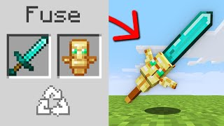 Minecraft, But You Can Fuse Any Item...