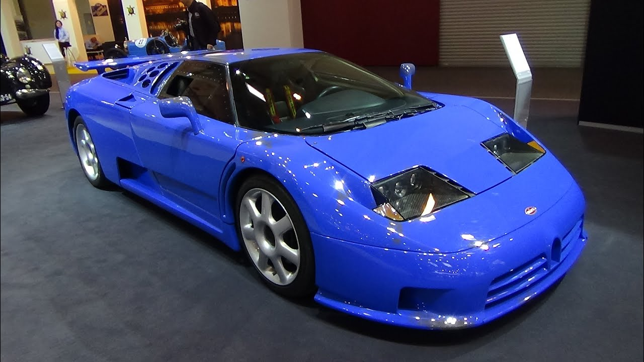 1993 bugatti eb 110 super sport exterior and interior techno classica essen 2015 youtube. Black Bedroom Furniture Sets. Home Design Ideas